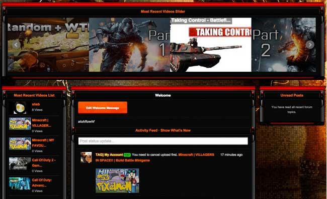 iClan Websites video gallery